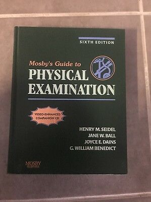 USED (VG) Mosby's Guide to Physical Examination by Henry M. Seidel