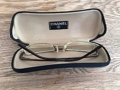 Chanel Ladies Glasses Frames - With Case and Dust Cover