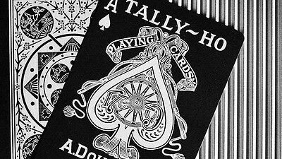 New Sealed Tally Ho Viper Fan Back by Ellusionist - 1x Deck Of Playing Cards UK