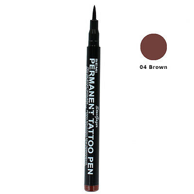 Stargazer Semi-Permanent Tattoo Fine Tip Body Art Stift-04 Braun