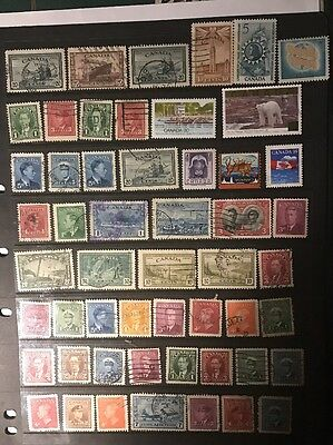 stamps  Canada - Used - Lot 339