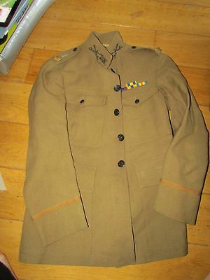 RARE WW1 Black Chaplains Uniform  9th Cavalry Major