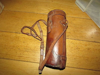 WW1 British Officers Leather Carrying Case