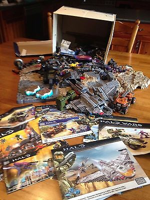 Halo Mega Bloks Bulk Building Toys Assorted with Manuals Bargain Price