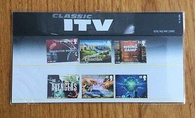 Royal Mail Presentation Pack :Classic ITV