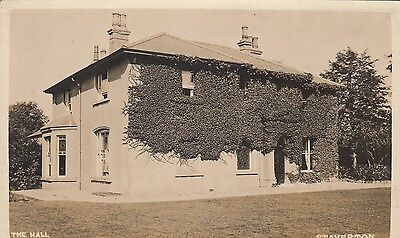 The Hall, Country House, Staverton, Northamptonshire. Rp, C1920.