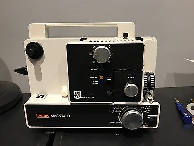 Eumig Dmark 610D Dual 8mm /super 8 Projector Great Condition