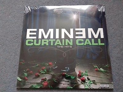 "Eminem ‎– Curtain Call: The Hits (1st ISSUE) Double Album 2 x 12"" LP"