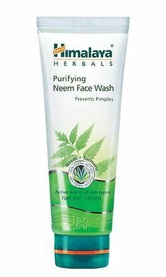 Himalaya Herbals Purifying Neem Face Wash Get Rid of Pimples and Acne Free Shipp