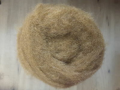 Carded Corriedal Wool for Felting or Spinning - Whiskey - Dyed Batts- 100g K2012