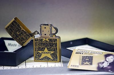 Zippo Lighter Briquet Stars Limited Edition