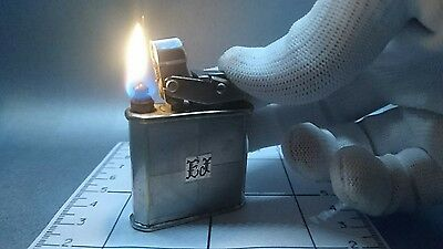 Lux Trik Lighter petrol vintage made in France Briquet Accendino semi-automatic