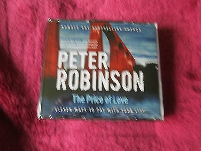Peter Robinson - The Price Of Love -  3 Cd Audio Book Set