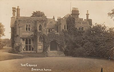 The Grange, Country House, Steeple Aston, Oxfordshire. Rp, C1920.