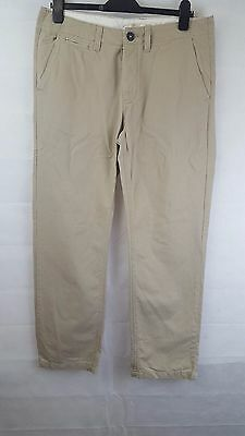 Men's F&F Beige Chinos Trousers W38 L30 - VGC