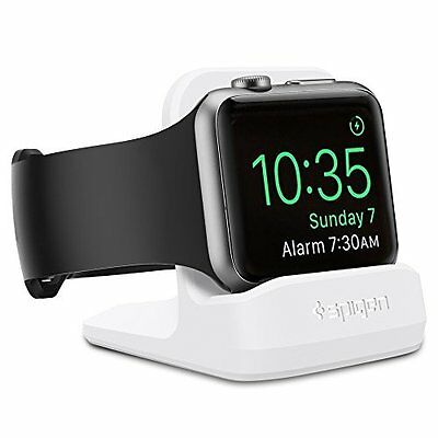 Apple Watch Dock White iWatch Series 1 2 38mm 42mm Night Stand Charging Station