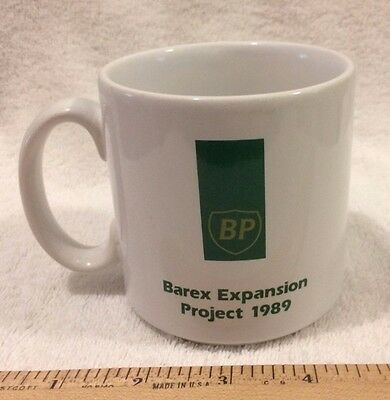 BP Barex Expansion Project 1989 Coffee Mug Cup Made in England