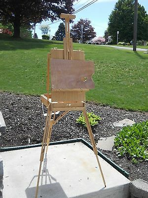 Portable Wooden Painting Artist Easel Sketch Tripod Board Stand sTORAGE