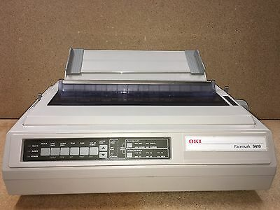 OKI® Pacemark 3410, Great condition, Reynolds compatible, Sold as shown