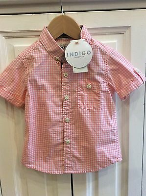 Baby Boys NEW 18-24 Months Short Sleeve Shirt from M&S