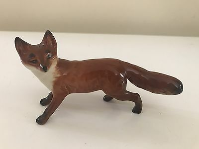 Beswick Fox - Model No. 1440 In Red/brown Gloss, Ex Condition