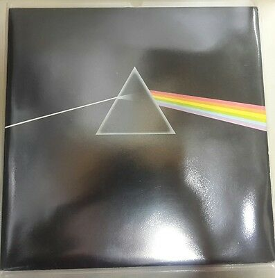 pink floyd dark side of the moon vinyl rare 1st press a2 UK blue triangle vinyl