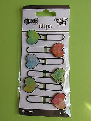 Ranger Dylusions Creative Dyary Clips NEW RELEASE