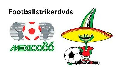 1986 World Cup Quarter Finals West Germany vs Mexico on DVD