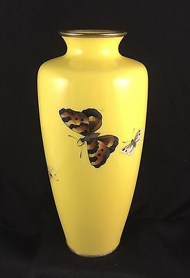 Ando Cloisonné Vase Taisho Period Early 20th Century EXCELLENT