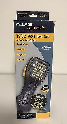 Brand New Fluke Networks TS 52 PRO Test Set Angled Bed of Nails 52801009 Phone