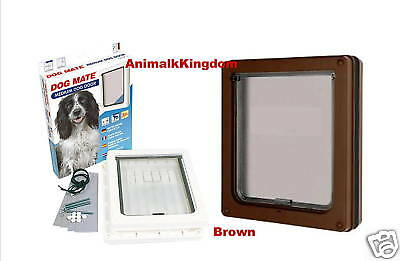 Petmate Dog Cat Door Flap Medium Brown 215B