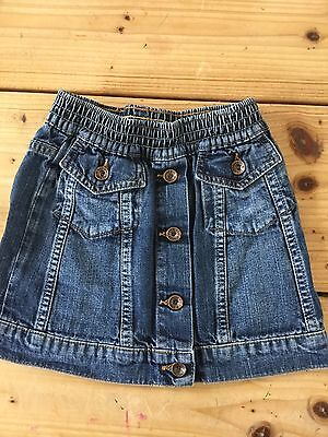 Girls Levi's Red Tab Skirt Age 24 Months 2 Years Rare Vintage