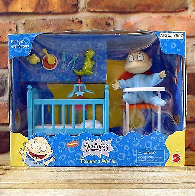 Rugrats Tommy's World Action Figure Playset Mattel 1997 New In Box Nickelodeon