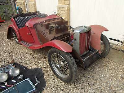 MG TC 1947 Restoration Project - Matching Numbers