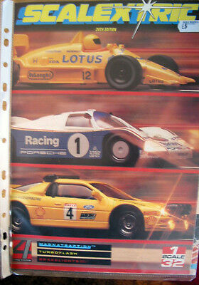 Scalextric  Catalogue 29Th Edition 1988 With Price List - Excellent