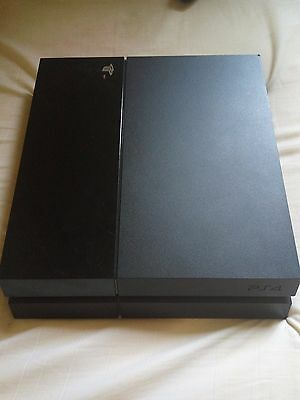 Sony PlayStation 4  500GB Jet Black Console only