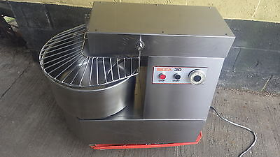Silea 30 Spiral mixer Stainless Steel,3 phase, £3600 new FANTASTIC WORKING ORDER