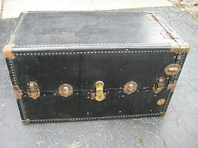 Antique travel Wardrobe Steamer Trunk.   J.V. Meyerling. Local Pickup.