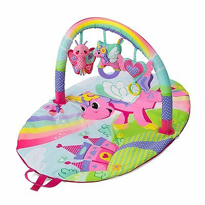 Infant Play Activity Gym Sparkle Explore and Store Unicorn Soft Mat Baby Toy