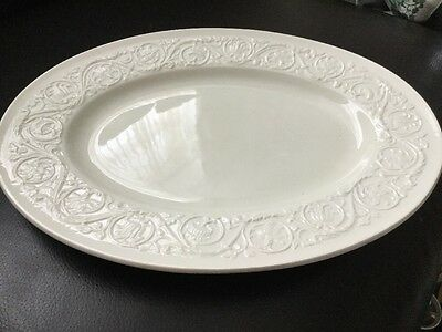 Wedgwood Oval Serving Dish Patrician Pattern 36x28cm