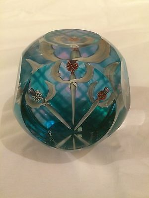 Caithness Glass Paperweight 'CLAN GATHERING' 31/100