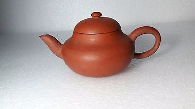 Chinese Yixing Zisha Antique Clay Pottery Teapot With Rare Marked