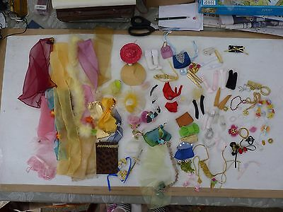 "Bundle of Barbie/12"" fashion doll accessories"