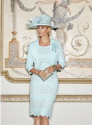 *brand New* Mother Of The Bride Dress & Hat Wedding Outfit, Condici 70821 - Uk 8