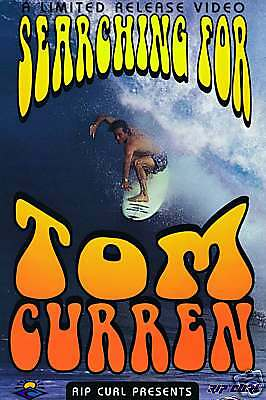 RIP CURL - SEARCHING FOR TOM CURREN  POSTER 28cm x 43cm Surfing Ocean Tube Surf