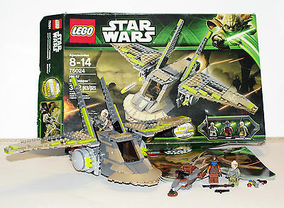 LEGO Star Wars #75024 HH-87 Starhopper w/ 2 minifigures, Instructions and Box