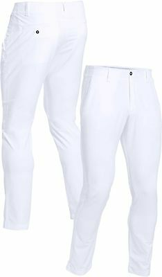 Under Armour Matchplay Tapered Golf Trousers - White NEW 2017 - 1253492