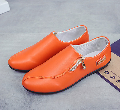 Cozy Men's Driving Casual Boat Shoes Leather Shoes Slip On Loafers cozy 9