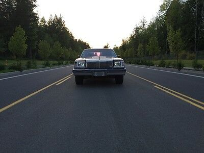 1979 Buick Regal Limited No Reserve Buick Regal Limited with T-type hood hot rod rat rod