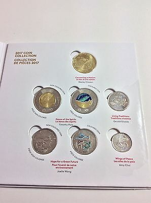 NEW 2017 Canada Coin Collection Set - My Canada, My inspiration - Beautiful Set